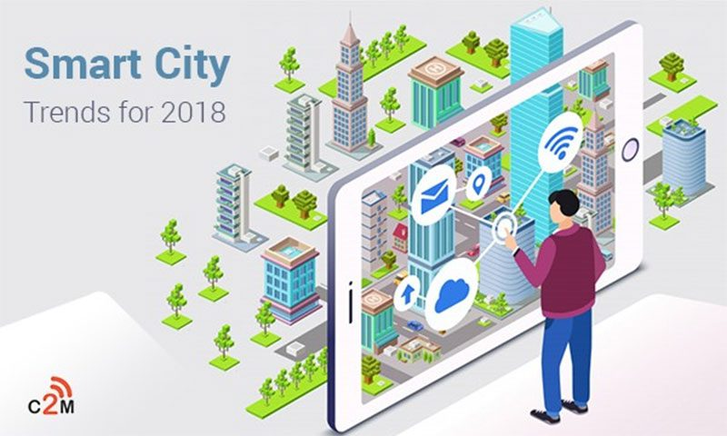 Smart City Trends for 2018