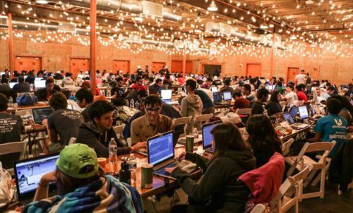 HackDFW 2016 Hackathon Floor